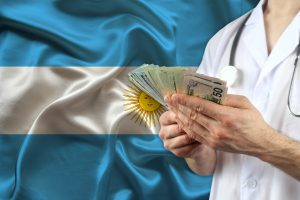 Why do Argentines save in dollars?