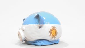 Argentine peso devalued by 90% against the dollar in 2020