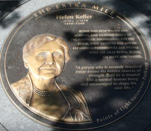 """Helen Keller, An American Icon: """"To be an American is to be an optimist"""""""
